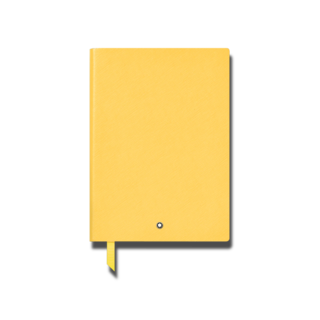 Montblanc Notizblock Notebook #163 Mustard Yellow 126122