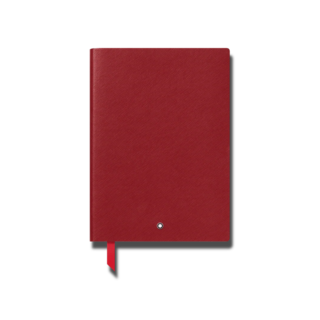 Montblanc Notizblock Notebook #163 Red 126125