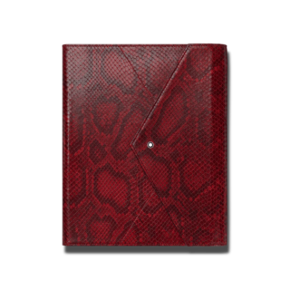 Montblanc Augmented Paper Python Printed Red 123667