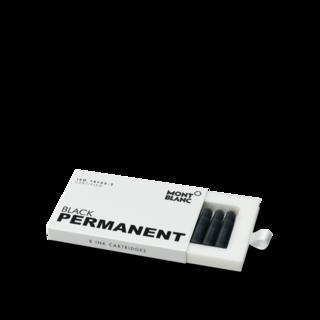 Montblanc Tintenpatronen Tintenpatronen, Permanent Black, 8er-Pack, DIN ISO 14145-2 107757