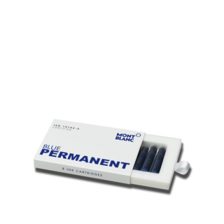 Montblanc Tintenpatronen Tintenpatronen, Permanent Blue, 8er-Pack 107758