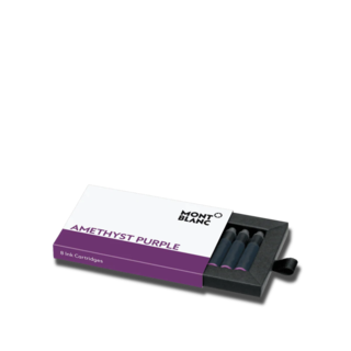 Montblanc Tintenpatronen Tintentenpatronen, Amethyst Purple, 8 Stück pro Packung 124487