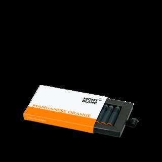 Montblanc Tintenpatronen Tintentenpatronen, Manganese Orange 119720