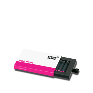 Montblanc Tintenpatronen Tintentenpatronen, Pop Pink, 8 Stück pro Packung 124514