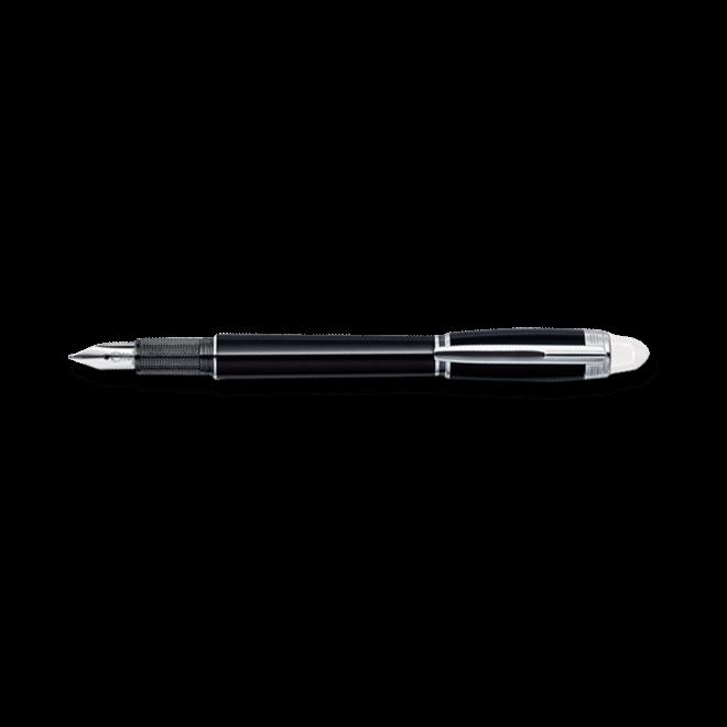 Füllfederhalter Montblanc Starwalker Platinum-Plated Resin Füllfederhalter aus Edelharz