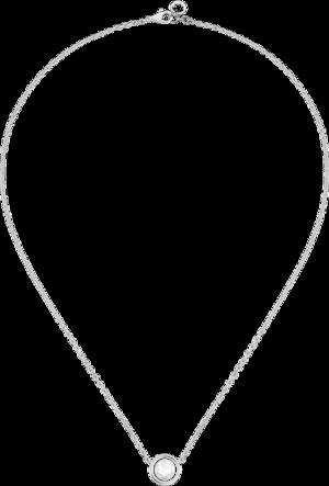 Halskette mit Anhänger Montblanc aus 925 Sterlingsilber mit 1 Perlmutt