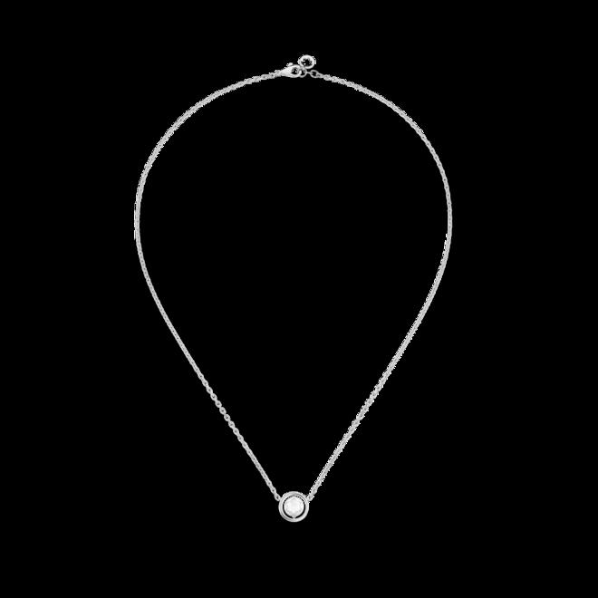Halskette mit Anhänger Montblanc aus 925 Sterlingsilber mit 1 Perlmutt bei Brogle