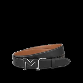 Montblanc Gürtel Ledergürtel mit M-Schließe 128789