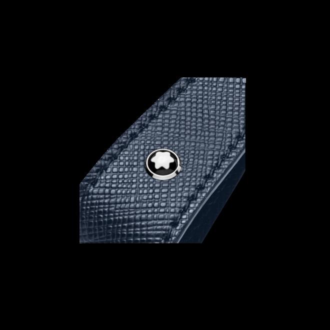 Schlüsselanhänger Montblanc Sartorial Schlüsselanhänger mit Schlaufe aus Edelstahl und Kalbsleder bei Brogle