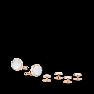 Montblanc Manschettenknöpfe Set mit Manschettenknöpfen und Smokingknöpfen 123784