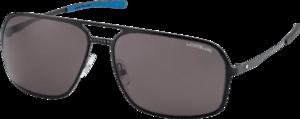 Sonnenbrille Montblanc aus Edelstahl und Kunststoff