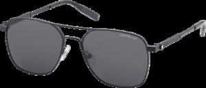 Sonnenbrille Montblanc aus Edelstahl