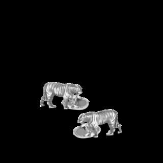 Montblanc Manschettenknöpfe Zodiac Sign Tiger 128336