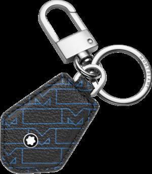 Schlüsselanhänger Montblanc 4810 M_Gram Schlüsselring aus Rindsleder