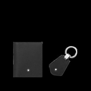 Montblanc Set aus Visitenkartenetui und Schlüsselanhänger 126276