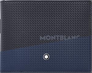 Geldbeutel Montblanc Extreme 2.0 Brieftasche 6 cc aus Kalbsleder
