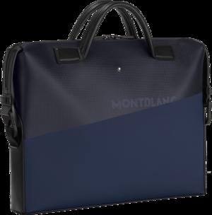 Arbeitstasche Montblanc Extreme 2.0 Dokumententasche ultra-schmal aus Kalbsleder