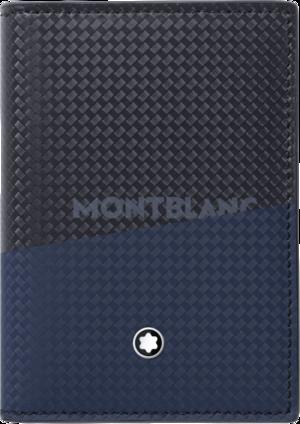 Etui für Visitenkarten Montblanc Extreme 2.0 mit Sichtfach aus Kalbsleder