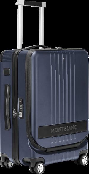 Trolley Montblanc #MY4810 mit Vordertasche aus Polycarbonat
