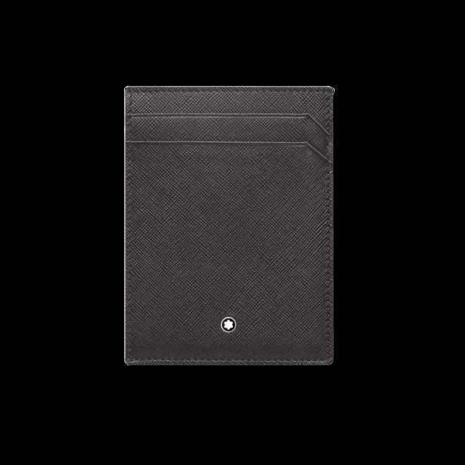 Kreditkartenetui Montblanc Sartorial 4 cc mit Ausweisfach aus Kalbsleder