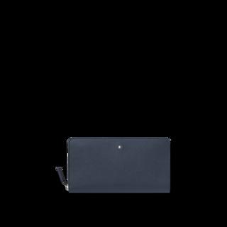 Montblanc Geldbeutel Sartorial Brieftasche 12 cc mit umlaufendem Reißverschluss 128589