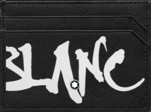 Etui für Visitenkarten Montblanc Sartorial Calligraphy Etui 5 cc aus Kalbsleder
