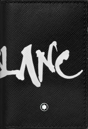 Etui für Visitenkarten Montblanc Sartorial Calligraphy aus Kalbsleder