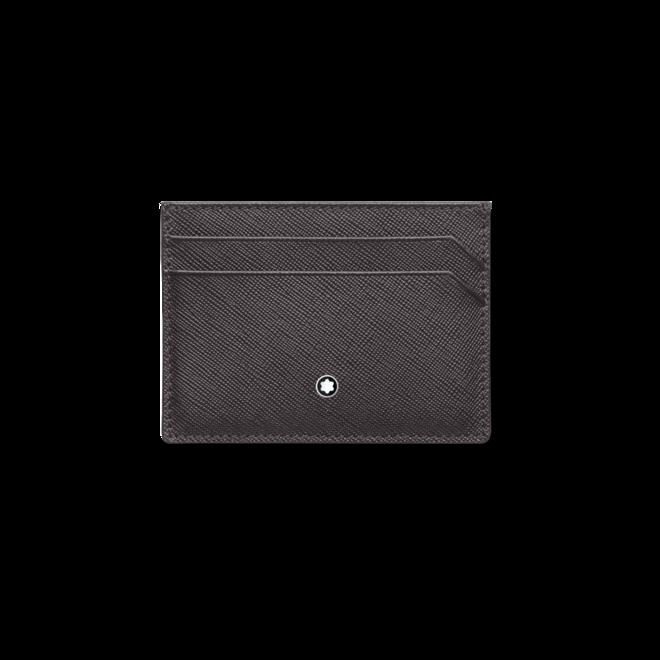 Kreditkartenetui Montblanc Sartorial Etui 5 cc aus Kalbsleder
