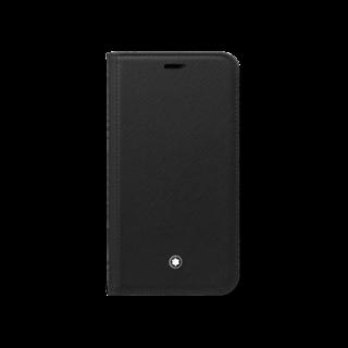 Montblanc Handyhülle Sartorial Flip Side Cover mit 2 cc und Sichtfach für das Apple iPhone 11 Pro 127055
