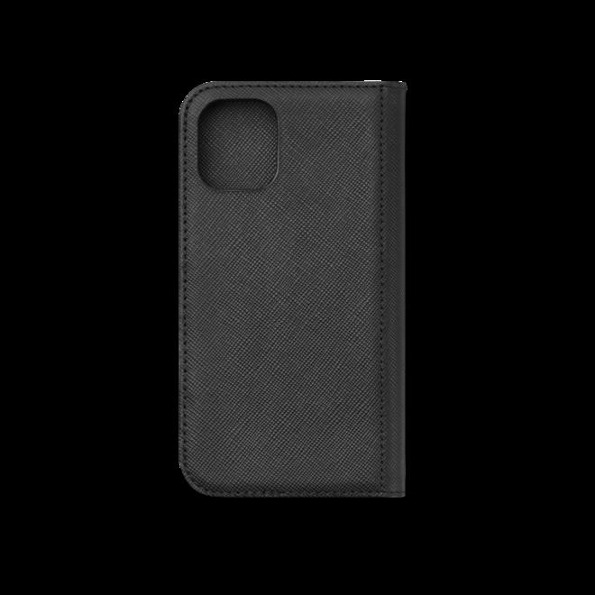 Handyhülle Montblanc Sartorial Flip Side Cover mit 2 cc und Sichtfach für das Apple iPhone 12 Min aus Kalbsleder bei Brogle