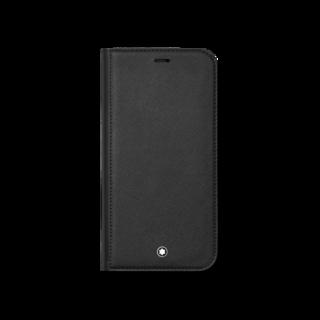 Montblanc Handyhülle Sartorial Flip Side Cover mit 2 cc und Sichtfach für das Apple iPhone 12 Pro Max 128654