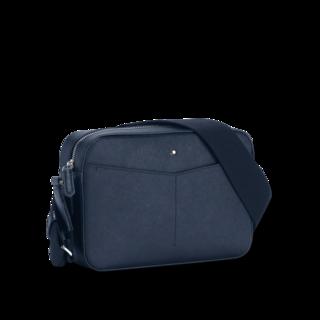 Montblanc Arbeitstasche Sartorial Messenger Bag mit Reißverschluss oben 128565