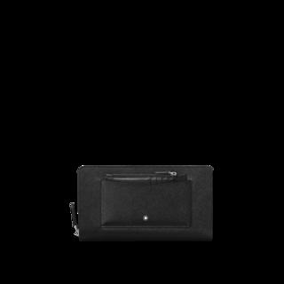 Montblanc Geldbeutel Sartorial Reise-Brieftasche mit umlaufendem Reißverschluss 128665