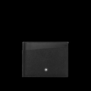 Montblanc Kreditkartenetui Sartorial Wallet 6cc Geldscheinklammer 128576