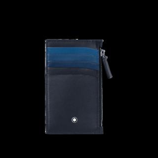 Montblanc Kreditkartenetui 5 cc mit Reißverschluss 126217