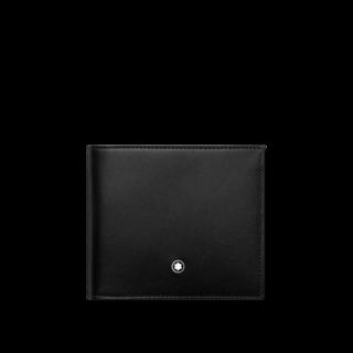Montblanc Geldbeutel Meisterstück Brieftasche 4 cc mit Münzfach 118300