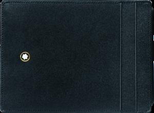Geldbeutel Montblanc Meisterstück Etui 4 cc mit Ausweisfach aus Rindsleder