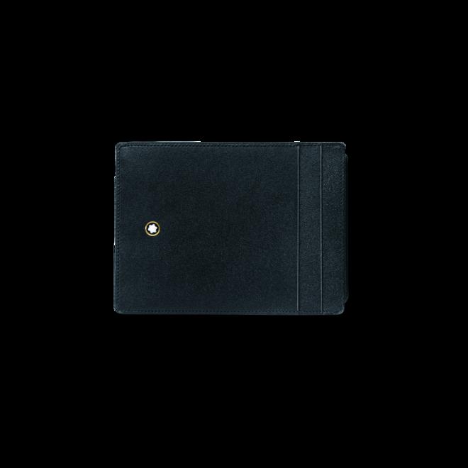 Geldbeutel Montblanc Meisterstück Etui 4 cc mit Ausweisfach aus Rindsleder bei Brogle