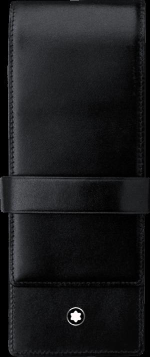Stiftetui Montblanc Meisterstück Etui für 3 Schreibgeräte aus Rindsleder