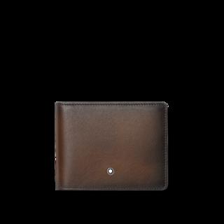 Montblanc Geldbeutel Meisterstück Sfumato Brieftasche 4 cc mit Geldclip 118352
