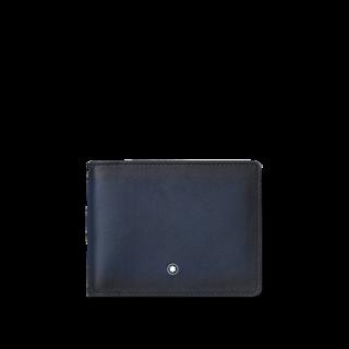 Montblanc Geldbeutel Meisterstück Sfumato Brieftasche 4 cc mit Geldclip 123722
