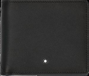 Geldbeutel Montblanc Meisterstück Sfumato Brieftasche 8 cc aus Rindsleder