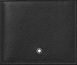 Geldbeutel Montblanc Meisterstück Soft Grain 6 cc aus Rindsleder