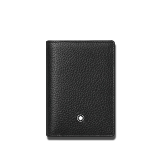 Montblanc Kreditkartenetui Meisterstück Soft Grain Brieftasche mit Geldscheinfach 126259