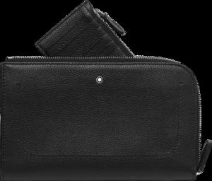Reisetasche Montblanc Meisterstück Soft Grain Etui klein 2 in 1 aus Rindsleder