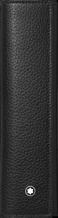 Stiftetui Montblanc Meisterstück Soft Grain für 1 Schreibgerät aus Rindsleder
