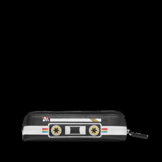 Montblanc Stiftetui Meisterstück Soft Grain Mix Tapes für 2 Schreibgeräte mit Reißverschluss oben 123741