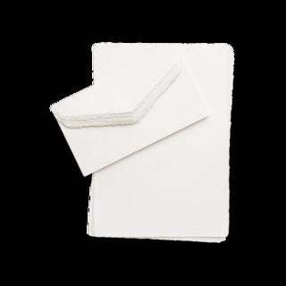 Montblanc Schreibtisch-Equipment Fine Stationery handgefertigtes Premium-Papier und Umschläge, 10 Stück 118891