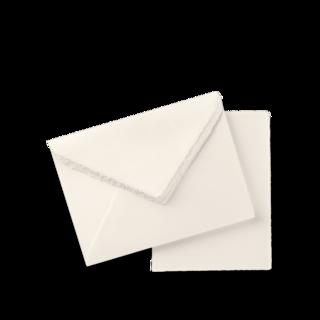 Montblanc Schreibtisch-Equipment Fine Stationery handgefertigtes Premiumpapier und Umschläge A5, 10 Stück 119615