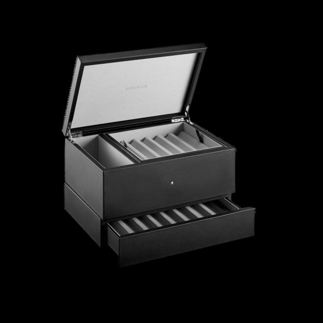 Business Set Montblanc Sammlerbox aus Leder für 12 Schreibgeräte aus Kalbsleder bei Brogle